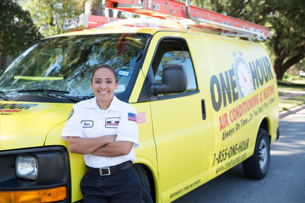 One Hour Air Conditioning & heating truck heating repair
