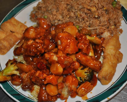 House of Szechwan sweet and sour chicken is a local favorite