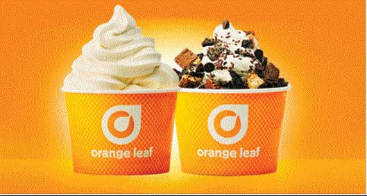 Yogurt at Orange Leaf in Macomb, MI