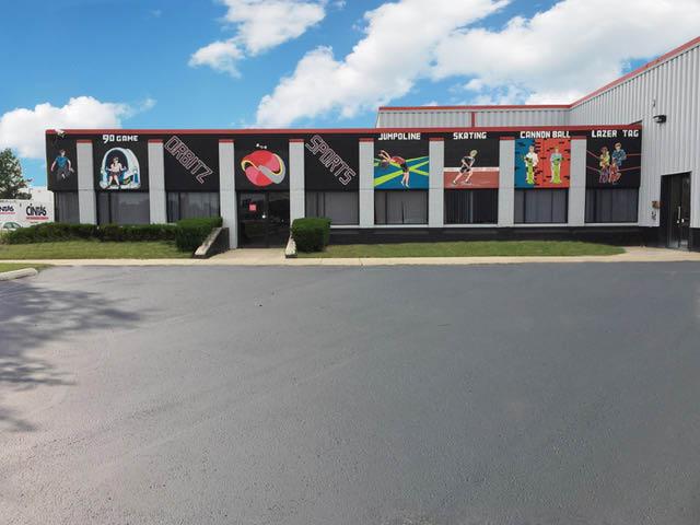 Exterior photo of Orbitz Sports