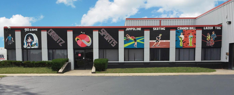 Orbitz Sports in Bedford Park, IL.