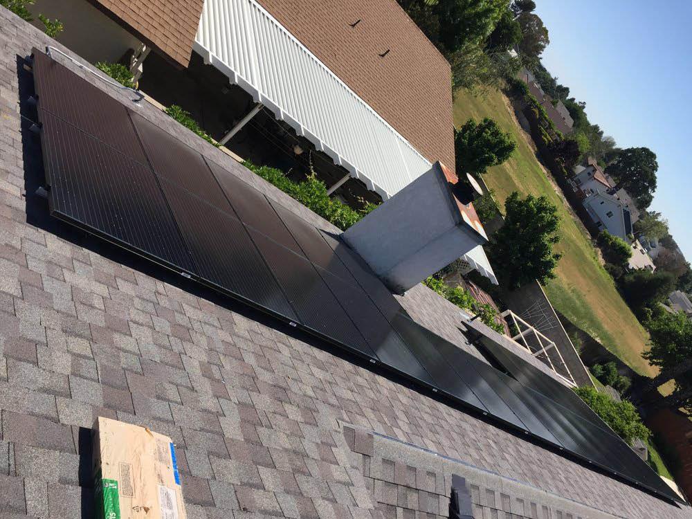 solar panel installation by Smart72