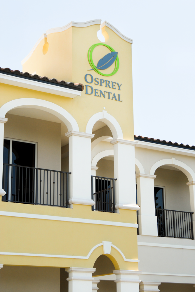 Osprey Dental storefront in Osprey, FL; orthodontics; Invisalign