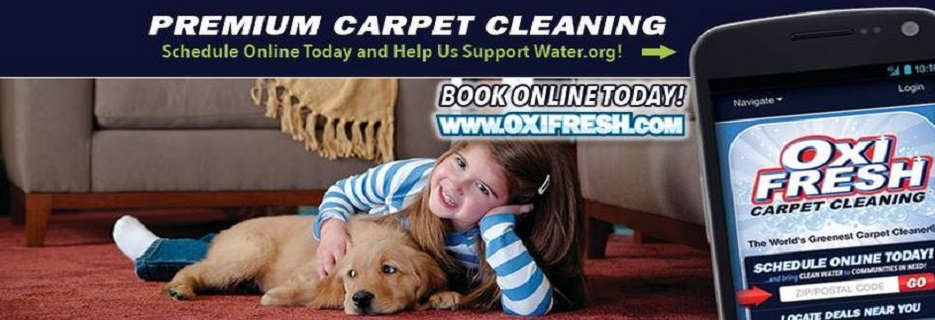 Oxi Fresh Carpet Cleaning banner State College, PA