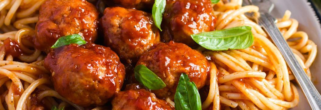 Paizano's spaghetti and meatballs photo banner