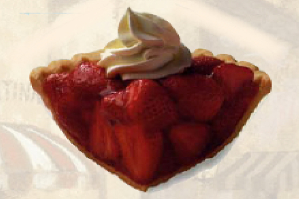 Strawberry dessert in Milwaukee