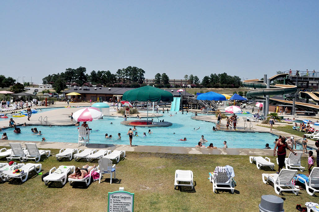 Palmetto Falls Water Park has cool pools for everyone