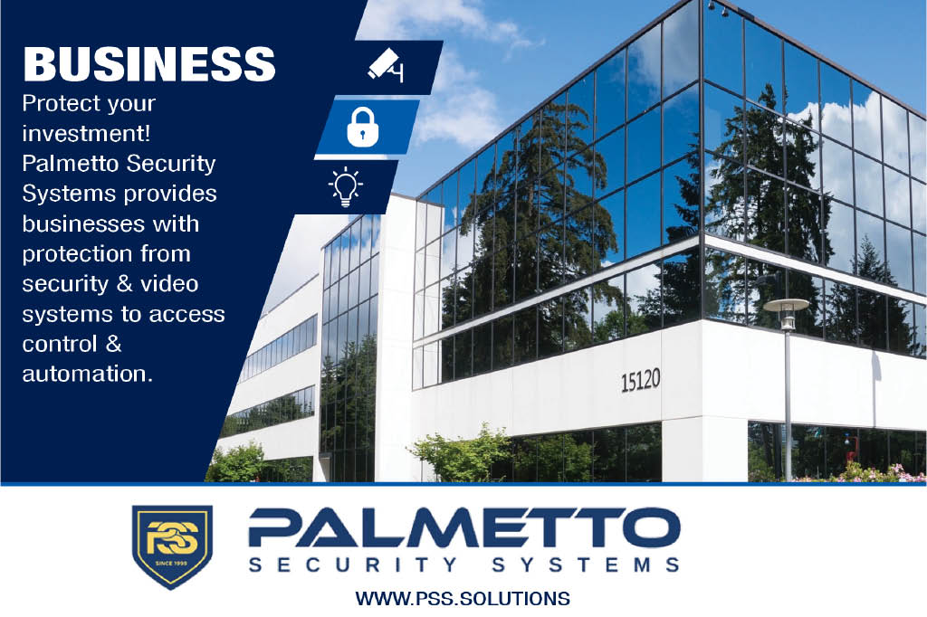 Business security from Palmetto Security Systems