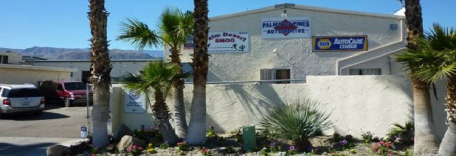 Palms to Pines Automotive in Palm Desert, CA Banner ad