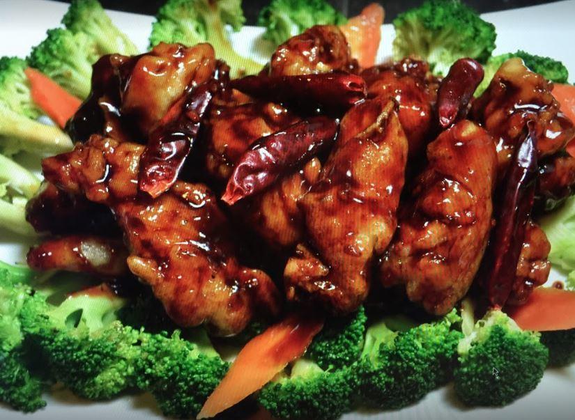 Chicken wings, Chinese restaurant