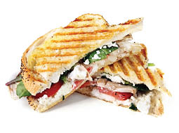 Pizza Towne grilled panini in Westfield, MA