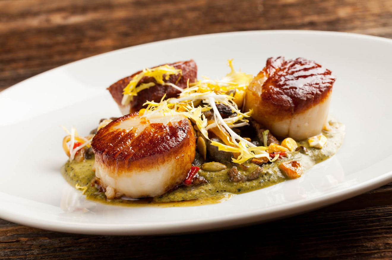 Enjoy our perfectly-spiced scallop recipe near Carson, CA