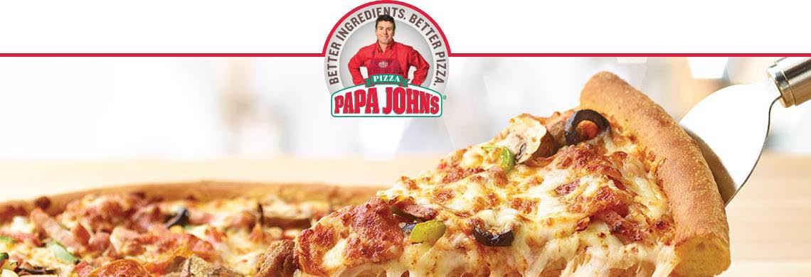 Papa John's in Houston, TX Banner ad