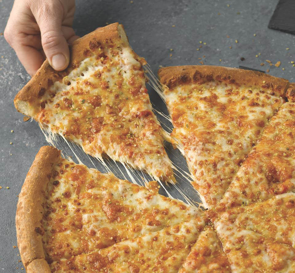 cheese pizza for carryout or delivery at papa john's pizza in warwick, ri