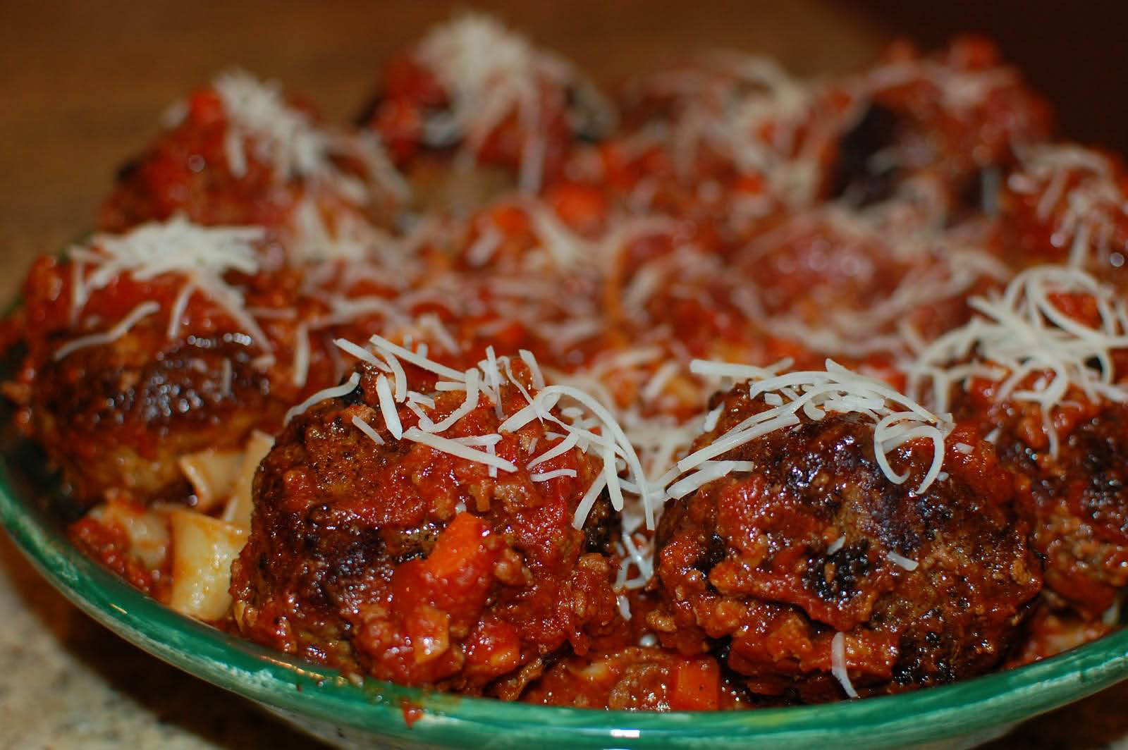 Papa's Italian style Homemade Meatballs