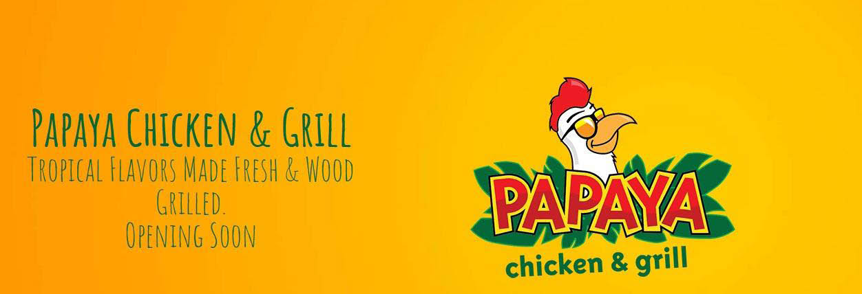 Papaya Chicken & Grill in Raleigh, NC Banner Ad