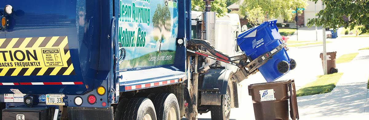 Recycling center near Omaha