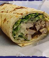 Chicaken wraps served at Pappy's