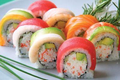 paradise sushi menu