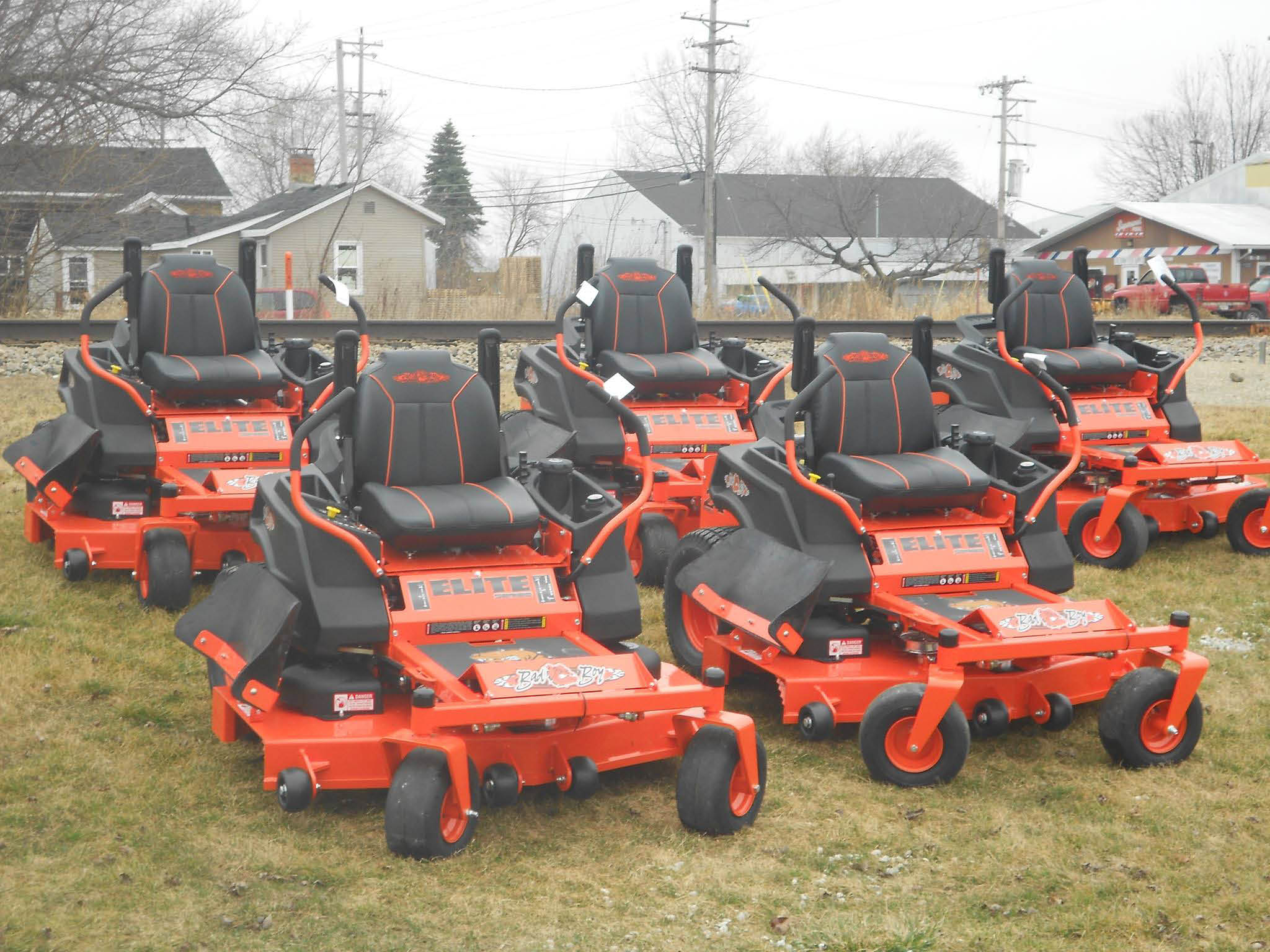Parker Power Equipment near Racine, WI sells Zero Turn Riding Lawnmowers