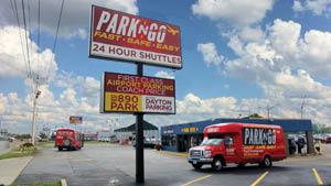 park n go economy airport parking dayton vandalia ohio