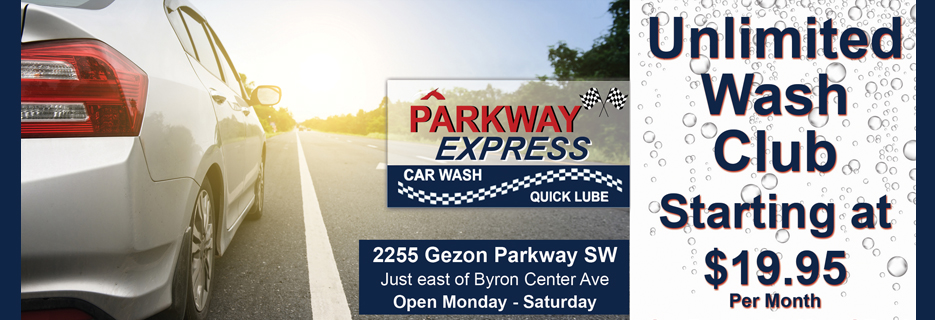 parkway express quick lube express wash
