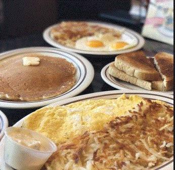 Breakfast at Parthenon Coney Island in Canton, MI