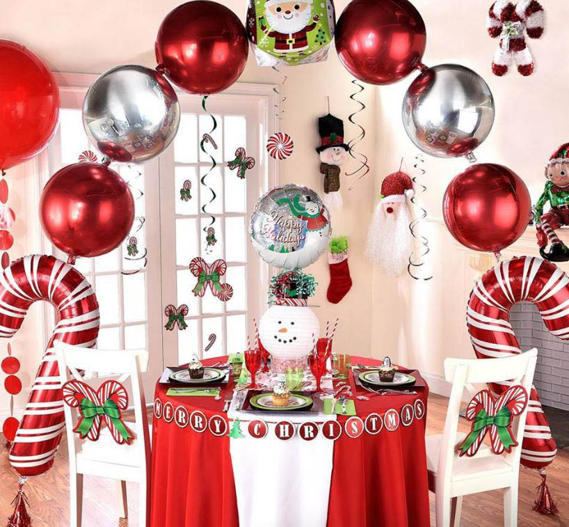 party, decorations, balloons