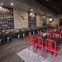 Pasquales Pizza interior restaurant seating area
