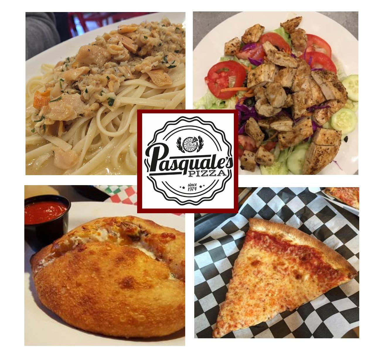 Authentic italian cuisine at Pasquales