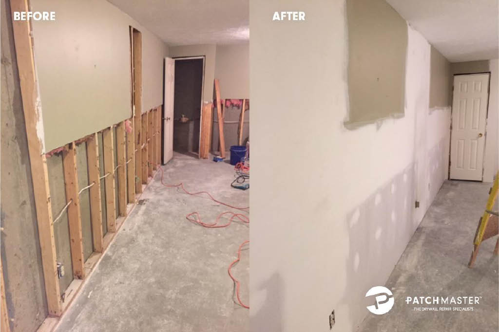 Before and After from Patchmaster in Morris County, NJ