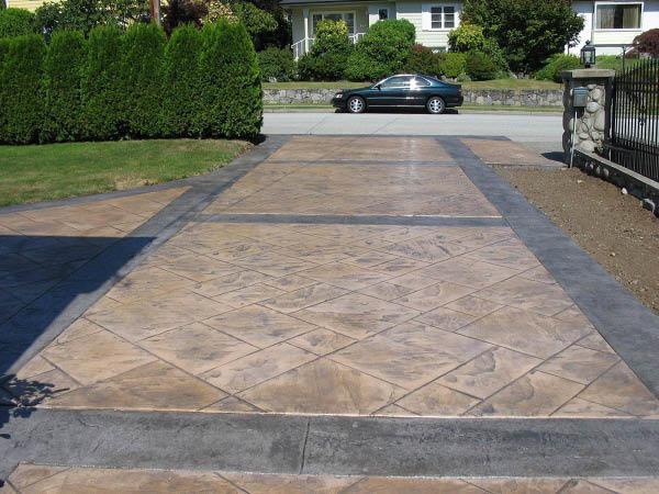 Patriot Epoxy Flooring driveway