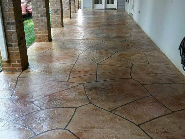 Patriot Epoxy Flooring patio