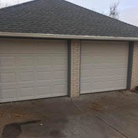 New garage doors - windowless