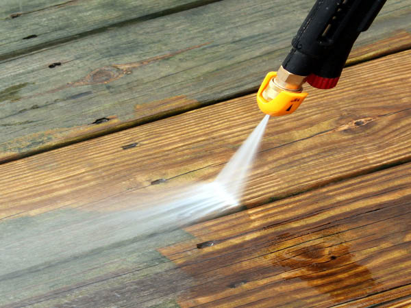 Paul's Power Wash, LLC decking