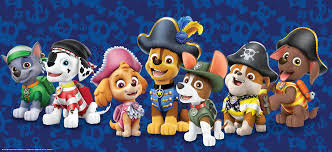 The Paw Patrol cast of characters