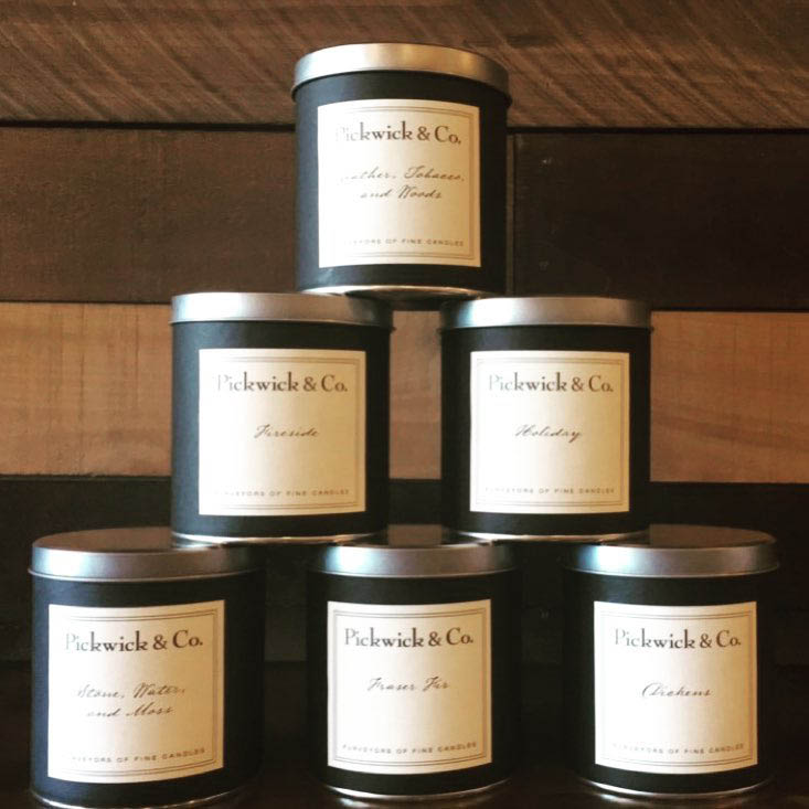 Pickwick candles