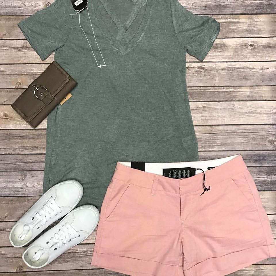 Shorts, t shirts, accessories