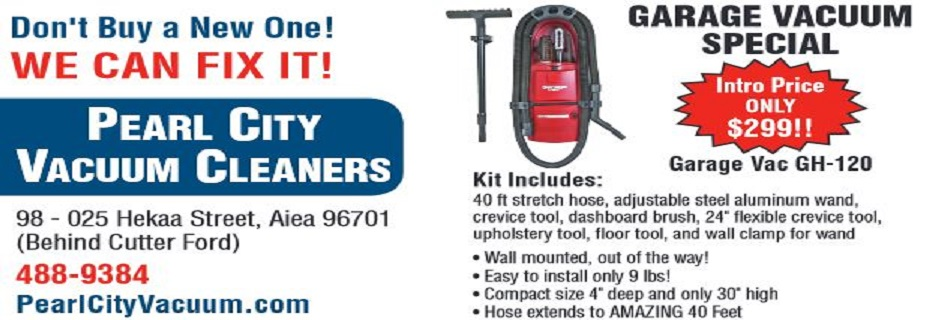 Pearl City Vacuum Cleaners in Aiea, HI banner