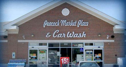 Peacock Marketplace and Car Wash in Vernon Hills is a great place to grab gas and lunch.