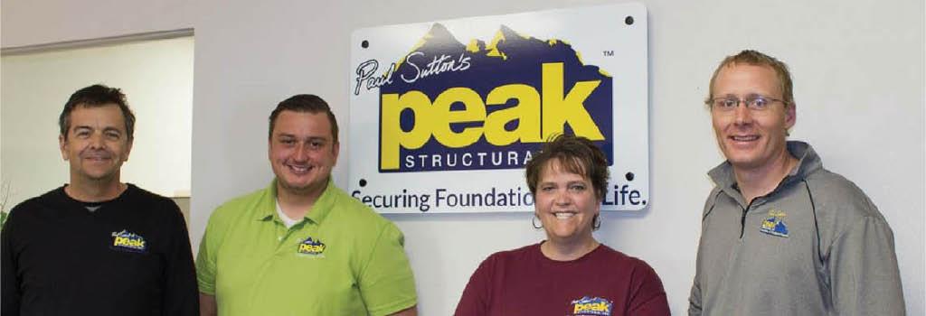 Peak Structural Inc.- Colorado Springs banner
