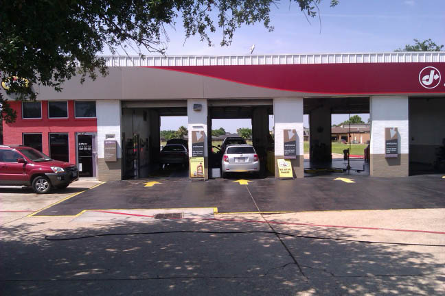 storefront; Jiffy Lube Auto Service offers Texas vehicle inspections in Pearland save on brakes save on car repairs