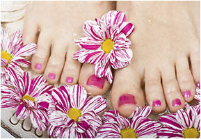 pedicure; soak nails and spa located in richland hills, texas