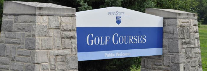 Penn State Golf Courses banner State College, PA