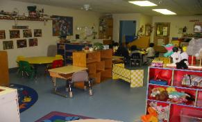 Classroom at Oak Lawn Penny Lane location.