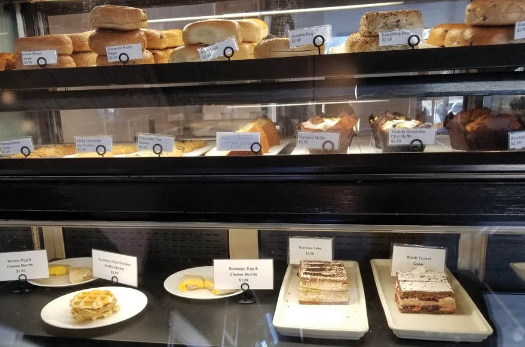 Tasty bakery pastries, muffins and more