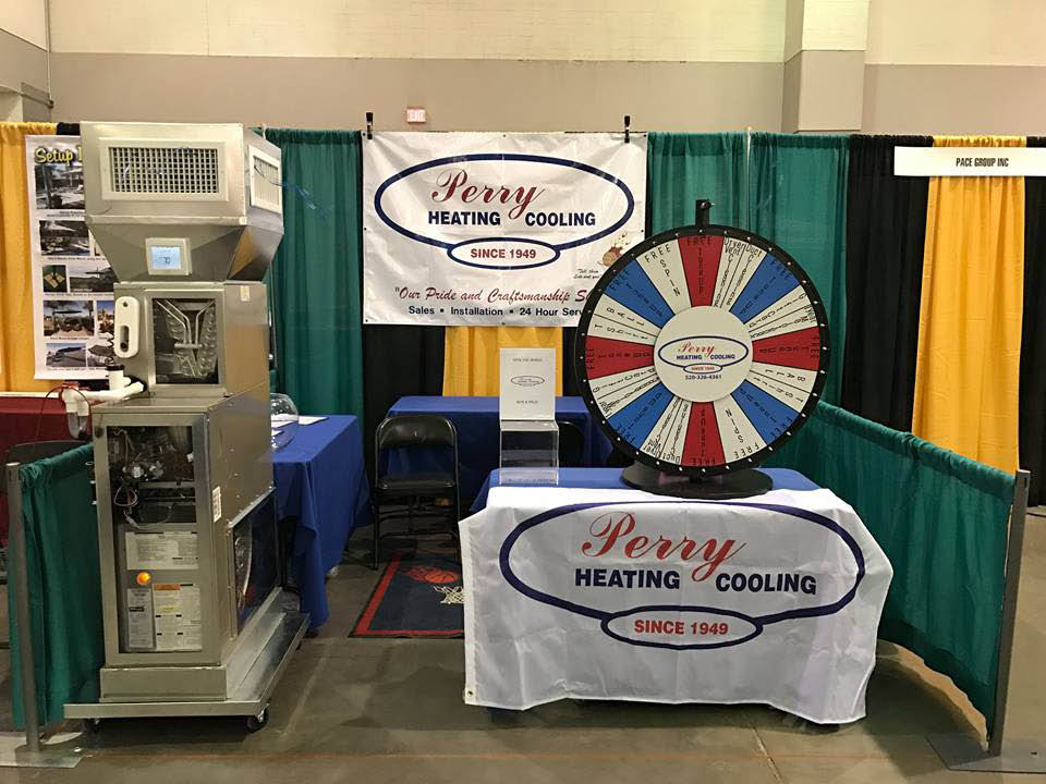 Perry Heating & Cooling display in Catalina, AZ