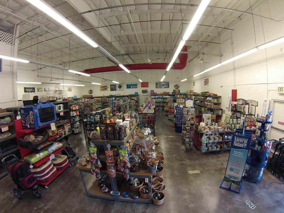 Pet Stop Warehouse in Mission Viejo sells pet supplies and natural pet foods