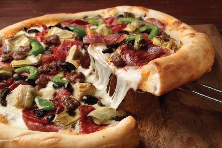 The last honest pizza.