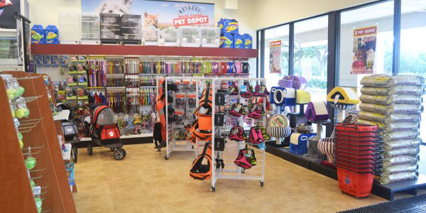 NORTH TAMPA PET DEPOT INSIDE STORE PHOTO animal care pet care pet supplies plus pet hospital